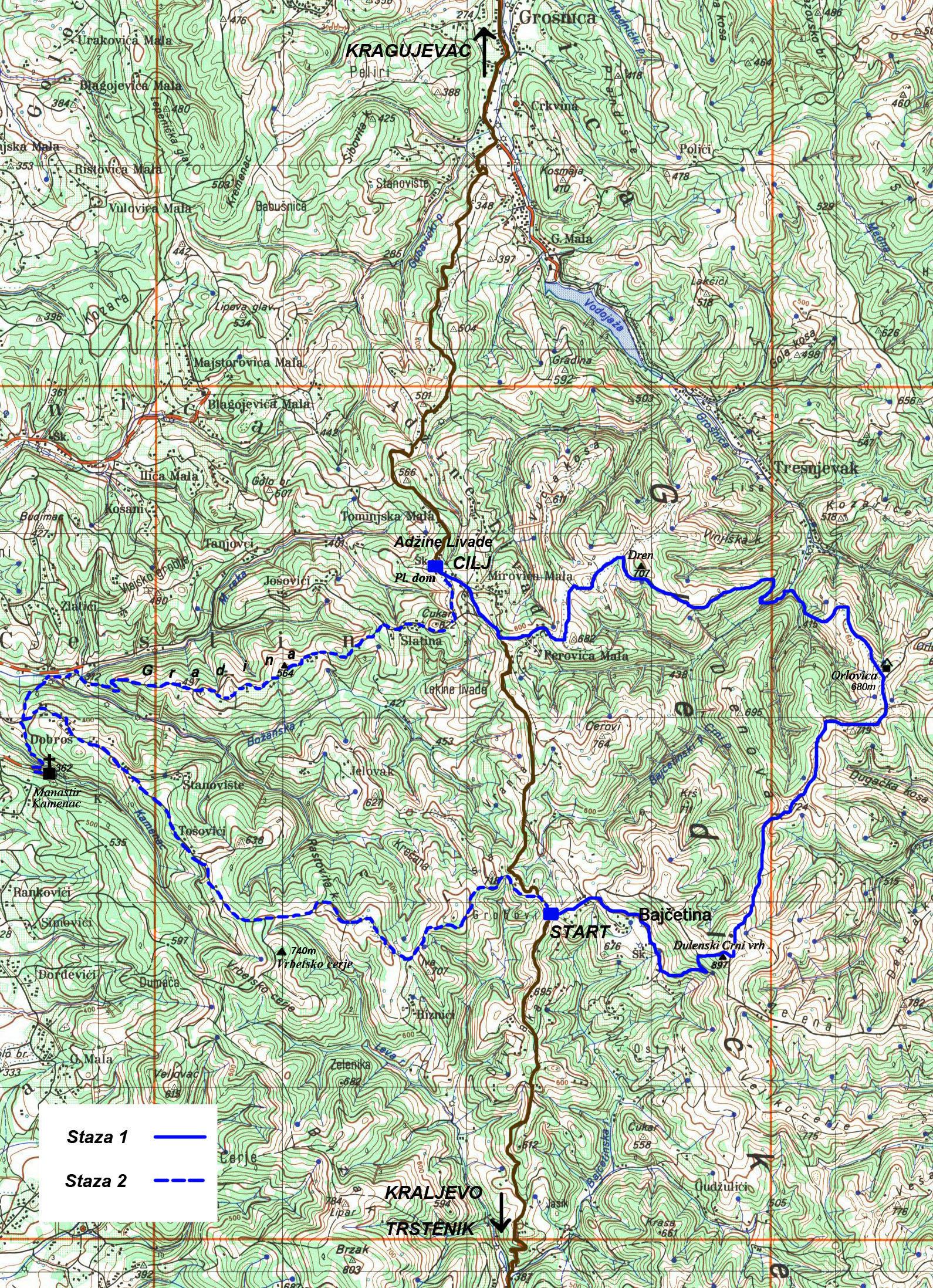 Gledicka Transverzala 2015 Planinarsko Drustvo Zezelj Kragujevac